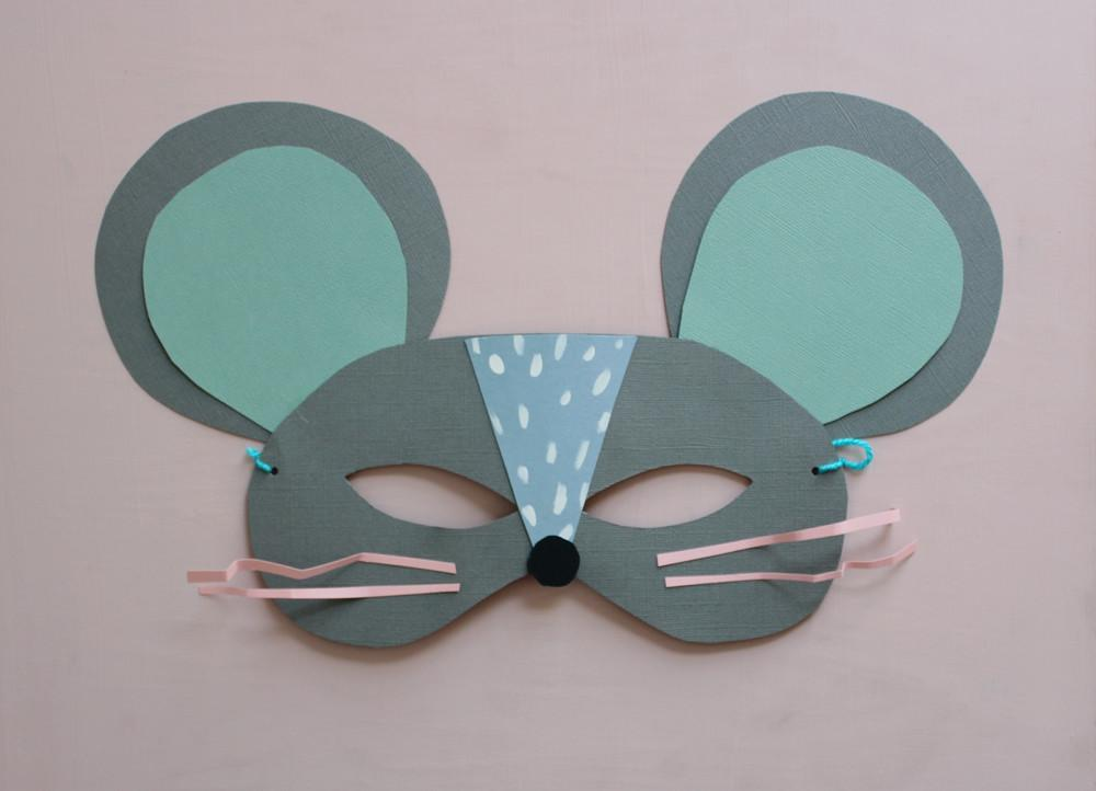 Diy Paper Cat Mouse Masks Mermag Bloglovin
