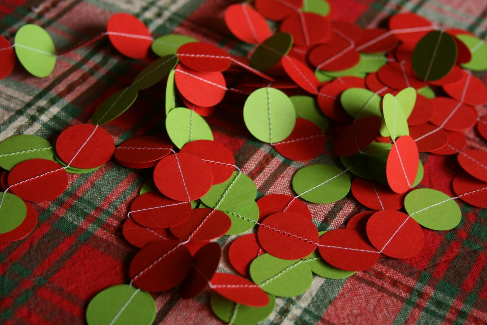 Diy Paper Christmas Garland Don Forget