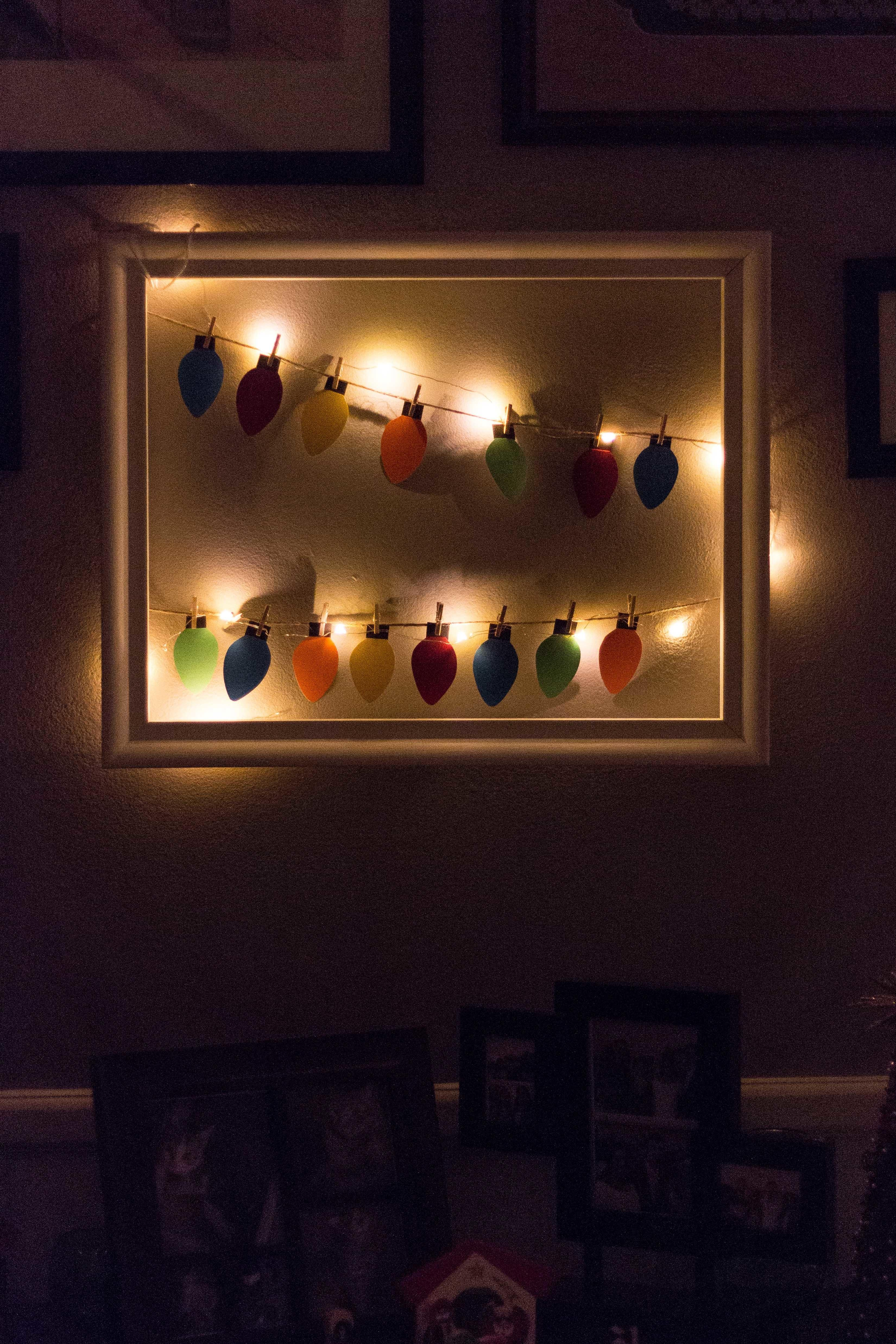 Diy Paper Christmas Lights Decoration Rose Clearfield