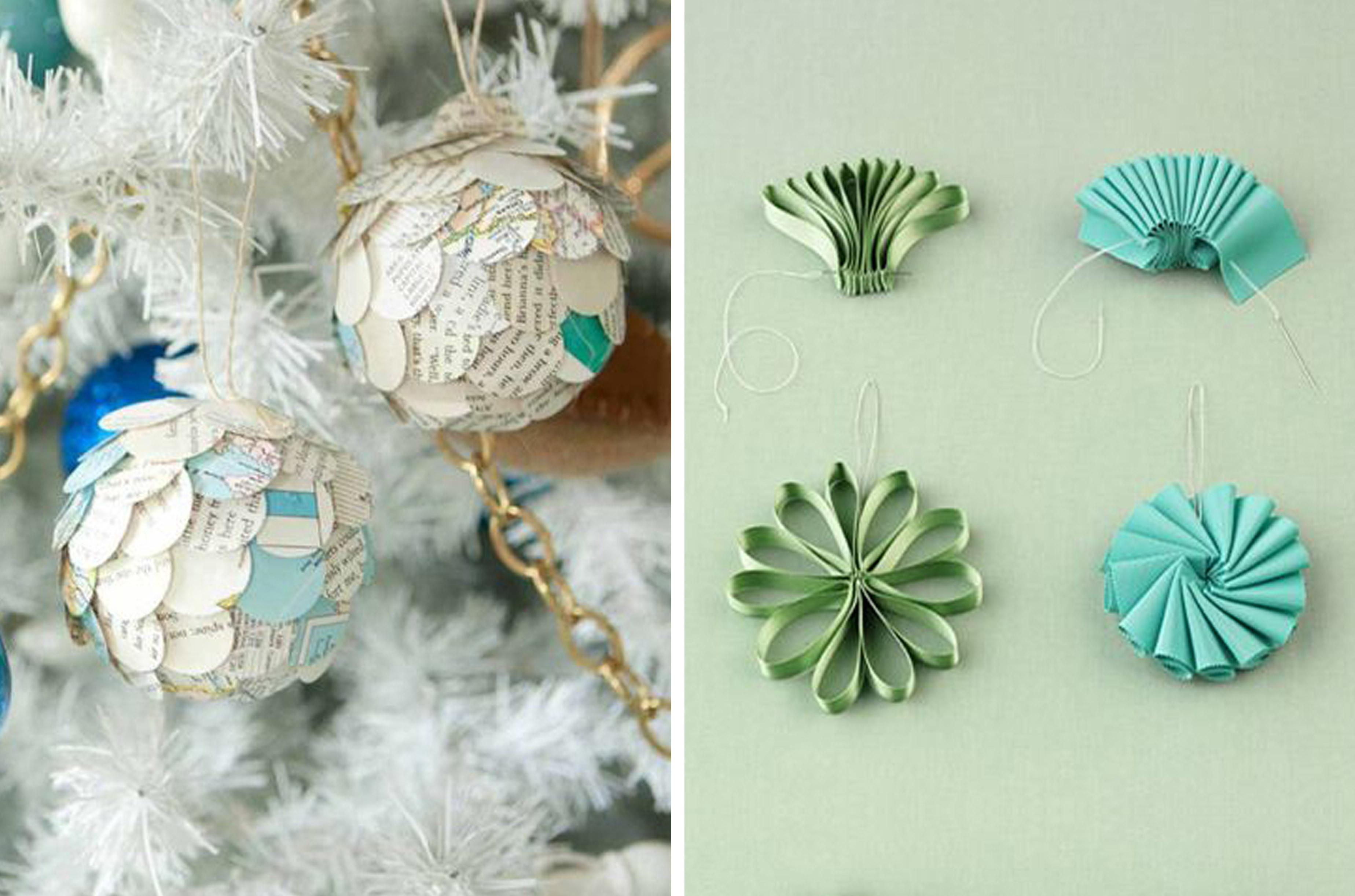Diy Paper Christmas Ornaments Crafthubs