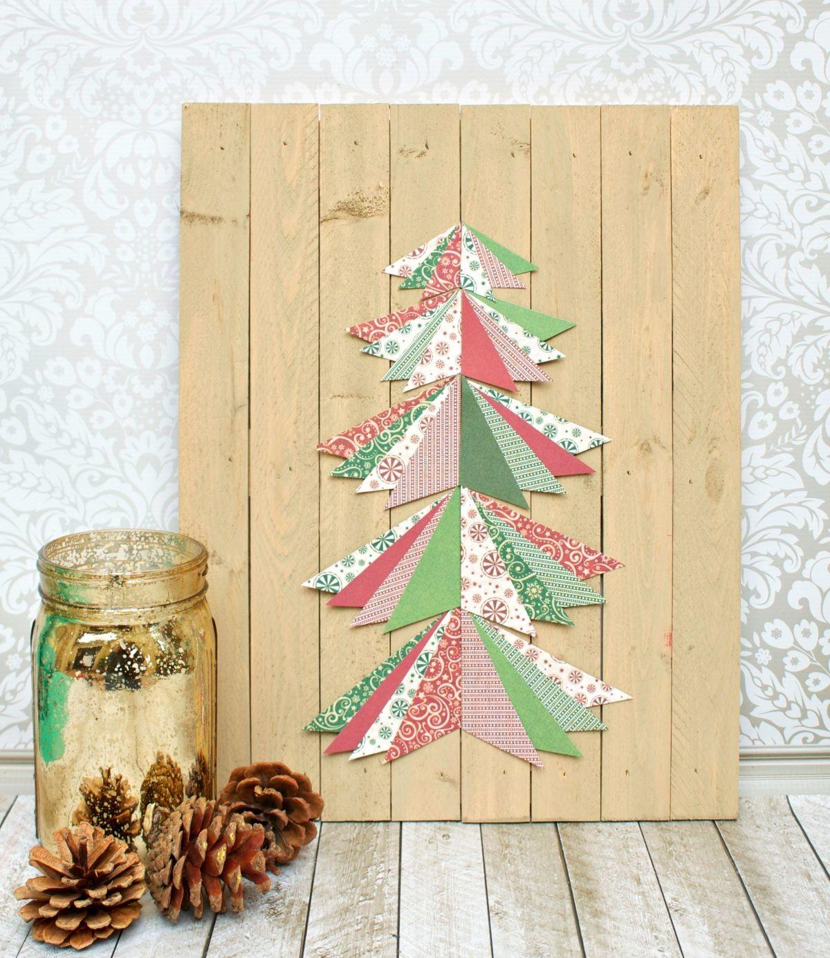 Diy Paper Christmas Wall Decorations Mouthtoears