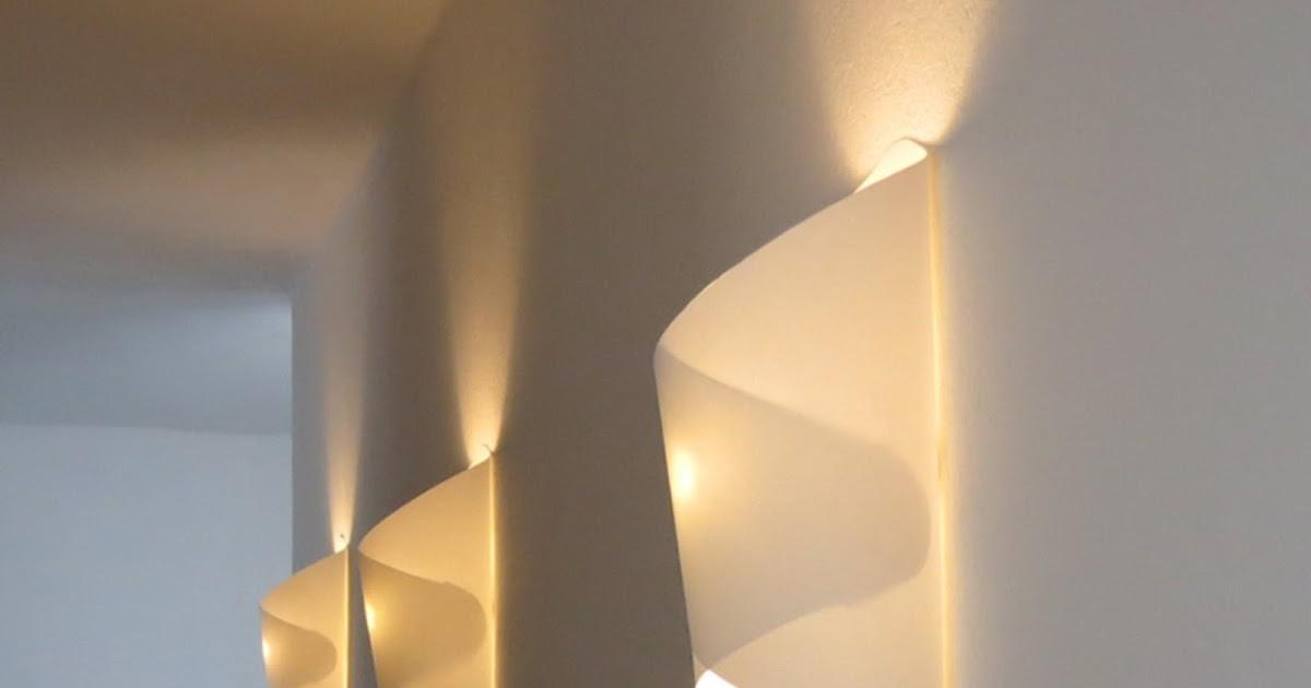 35 Attractive Voluminous Diy Paper Wall Lamp That Will Greatly Admire You Images Decoratorist