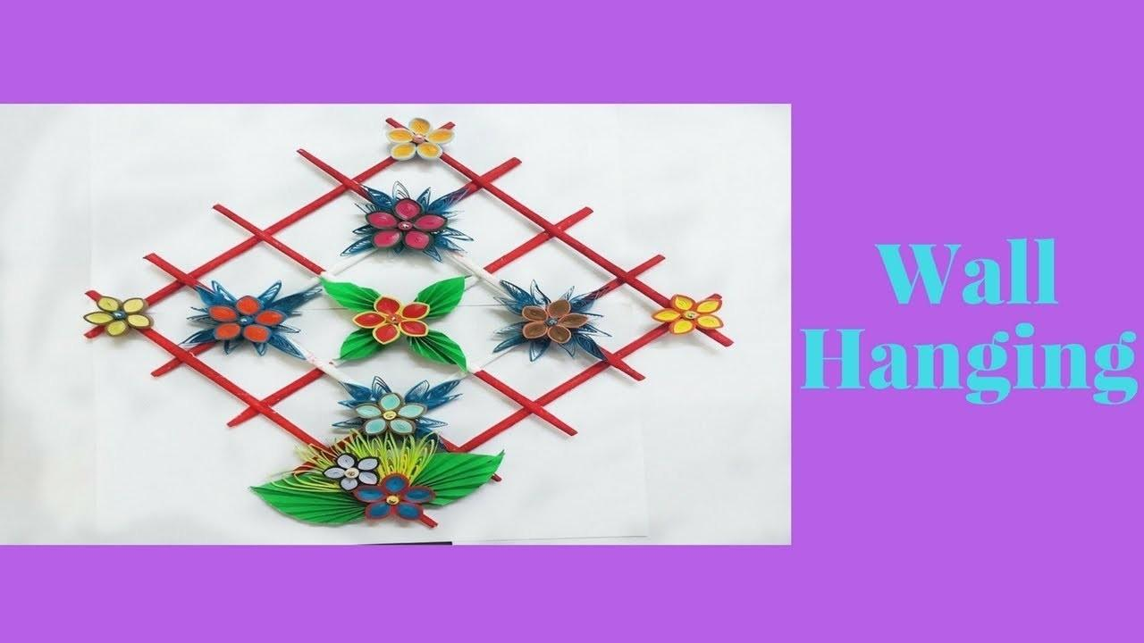 Diy Paper Quilling Wall Hangers Room Decoration