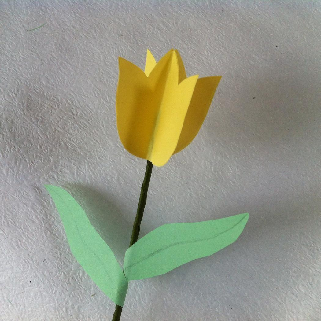 Diy Paper Tulips Flower Decoration Ideas Createsie