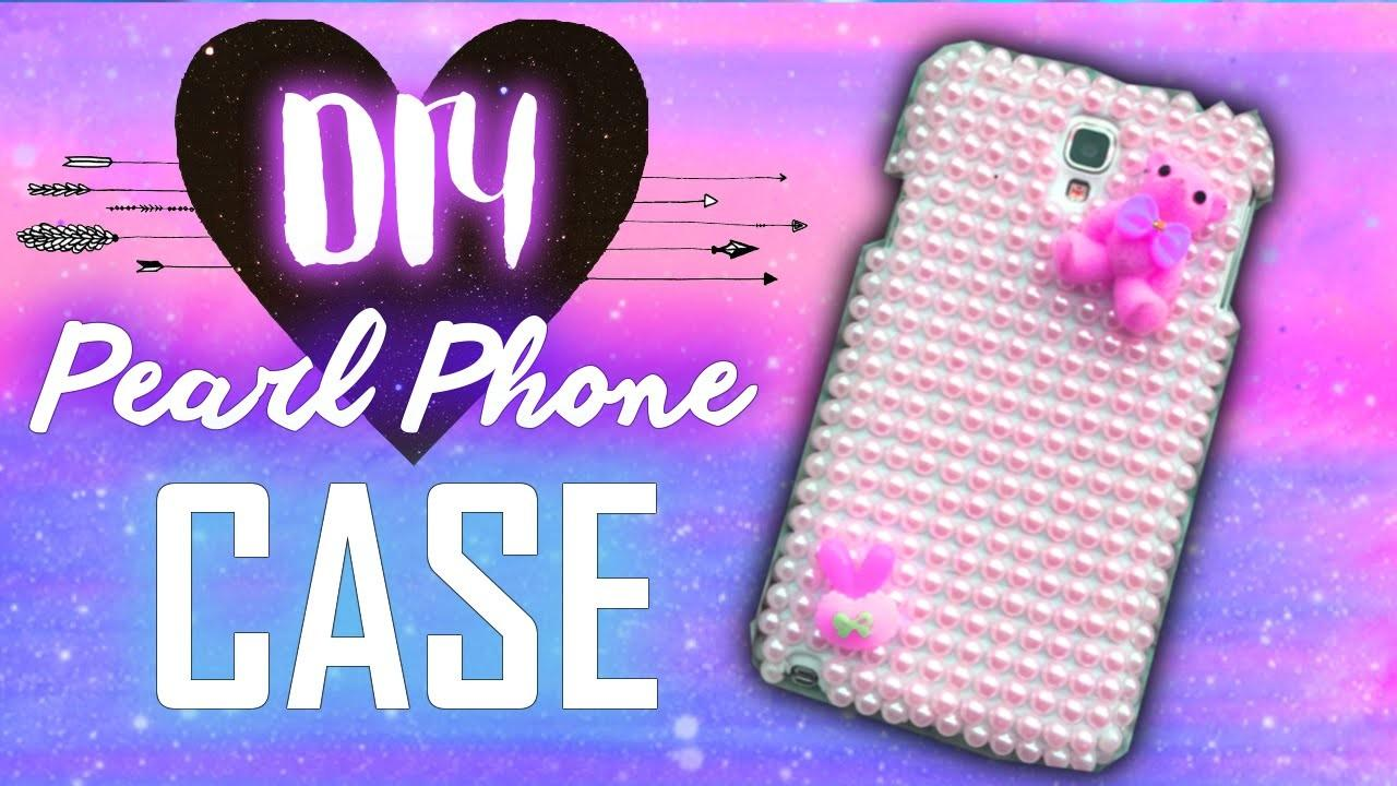 Diy Pearl Phone Case Your Galaxy Note Neo