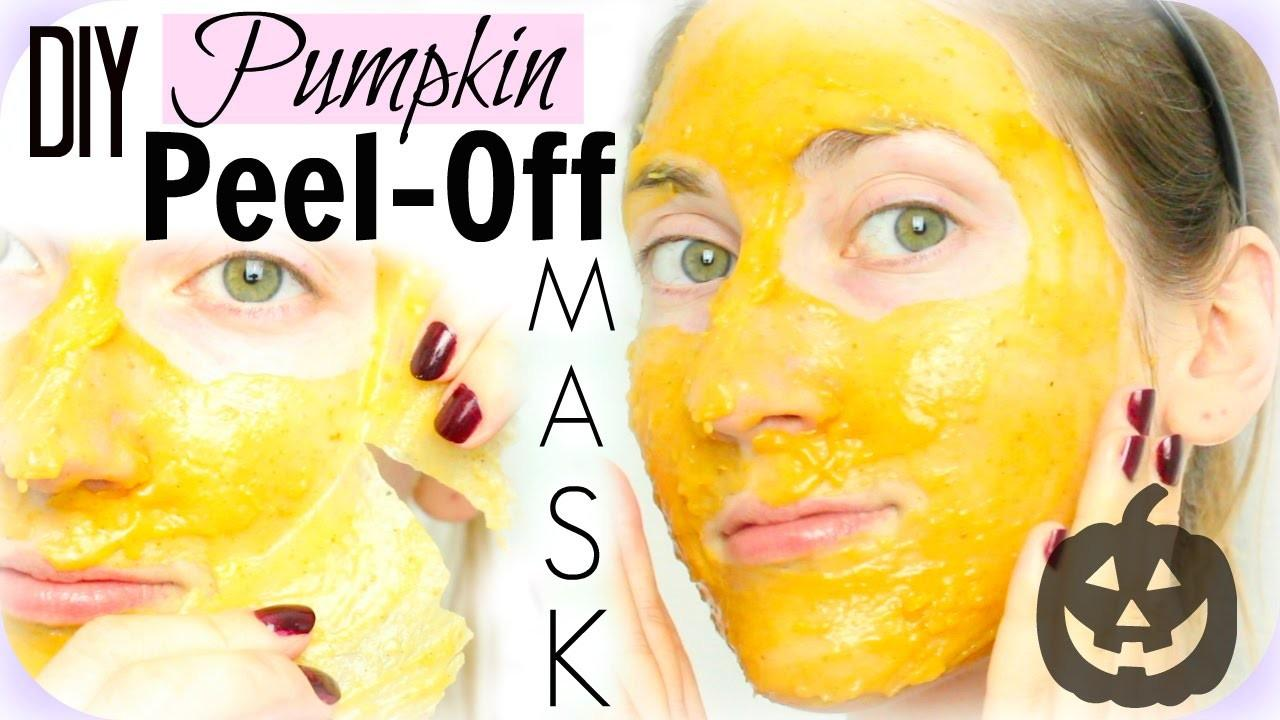 Diy Peel Pumpkin Pie Face Mask Brightening Fights