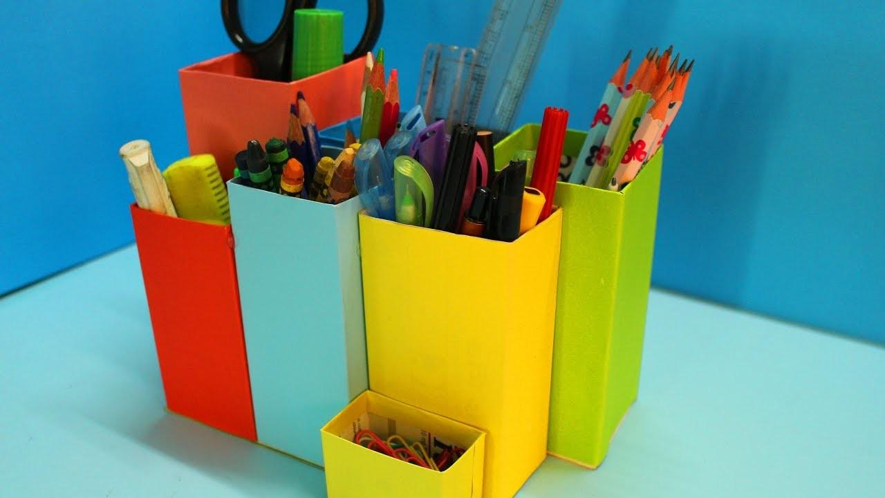 MAKE IT MONDAY: DIY ORIGAMI PENCIL HOLDERS. — Gathering Beauty | 720x1280