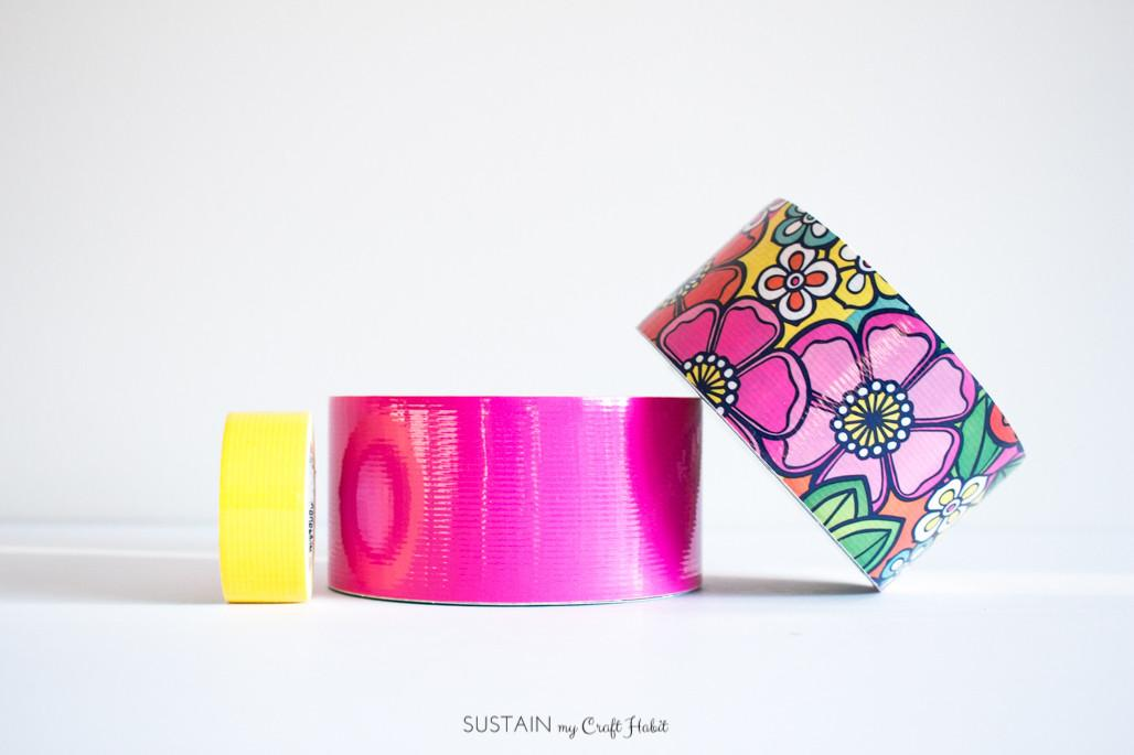 Diy Pencil Cases Duck Tape 5924 Sustain Craft Habit