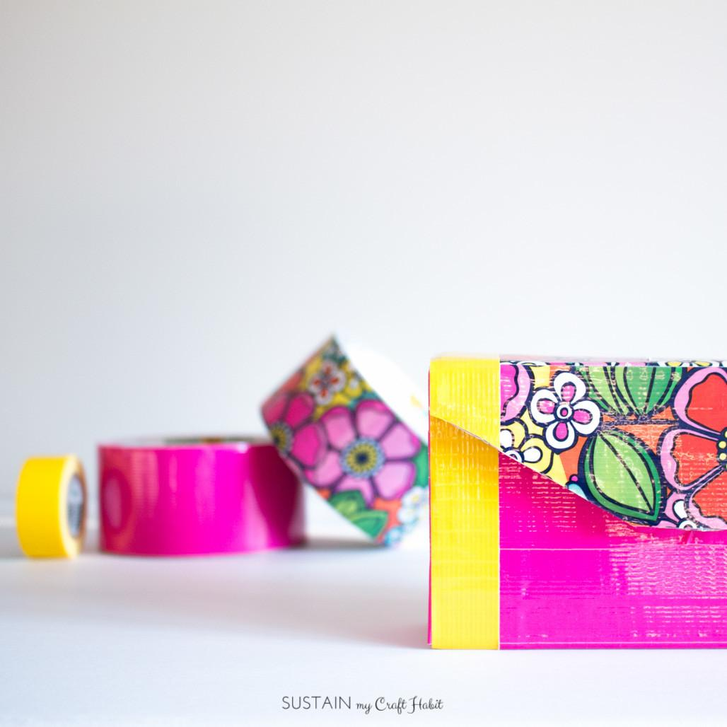 Diy Pencil Cases Duck Tape 5927 Sustain Craft