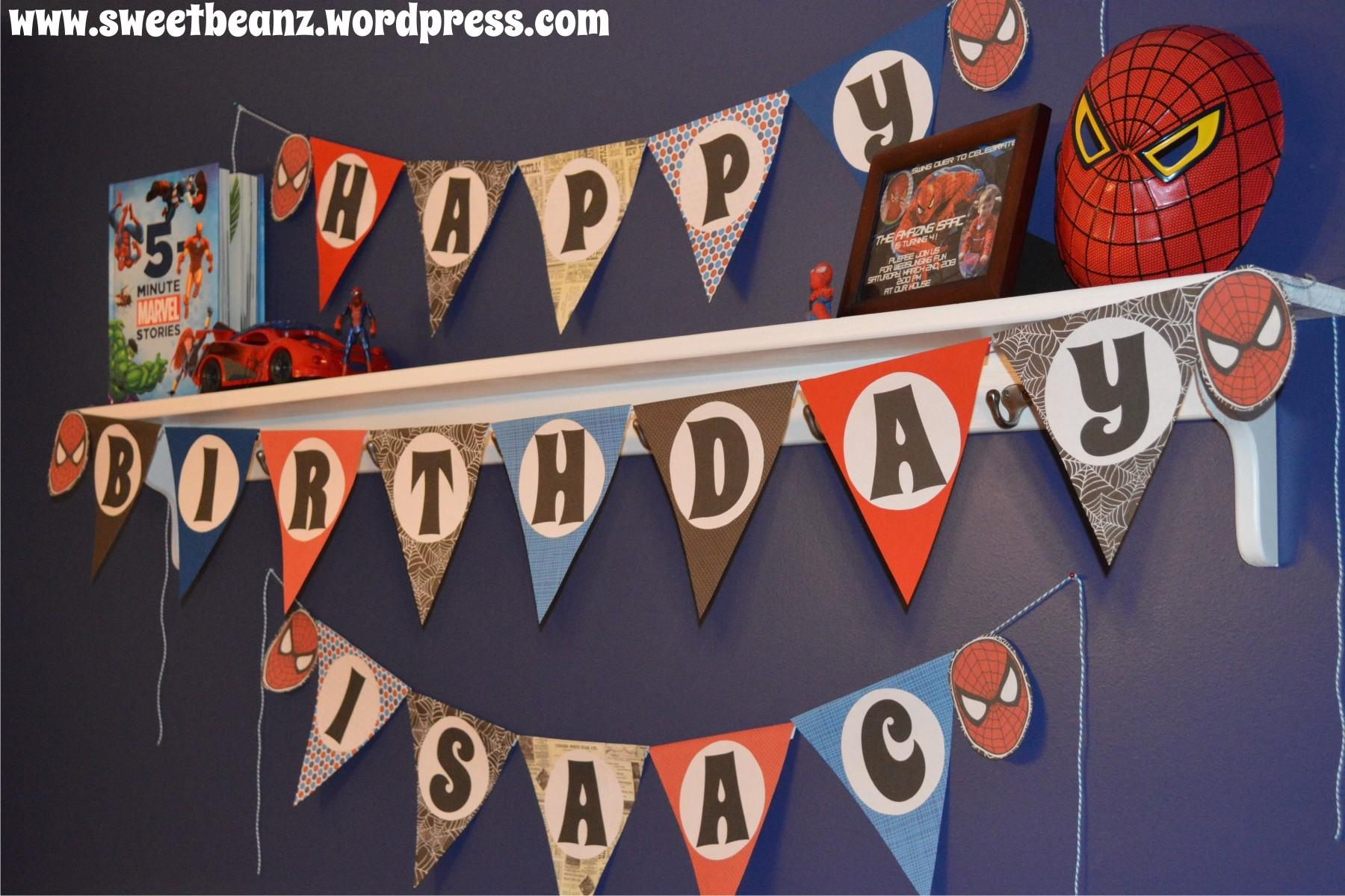 Diy Pennant Banner Template Your Next Party Sweetbeanz