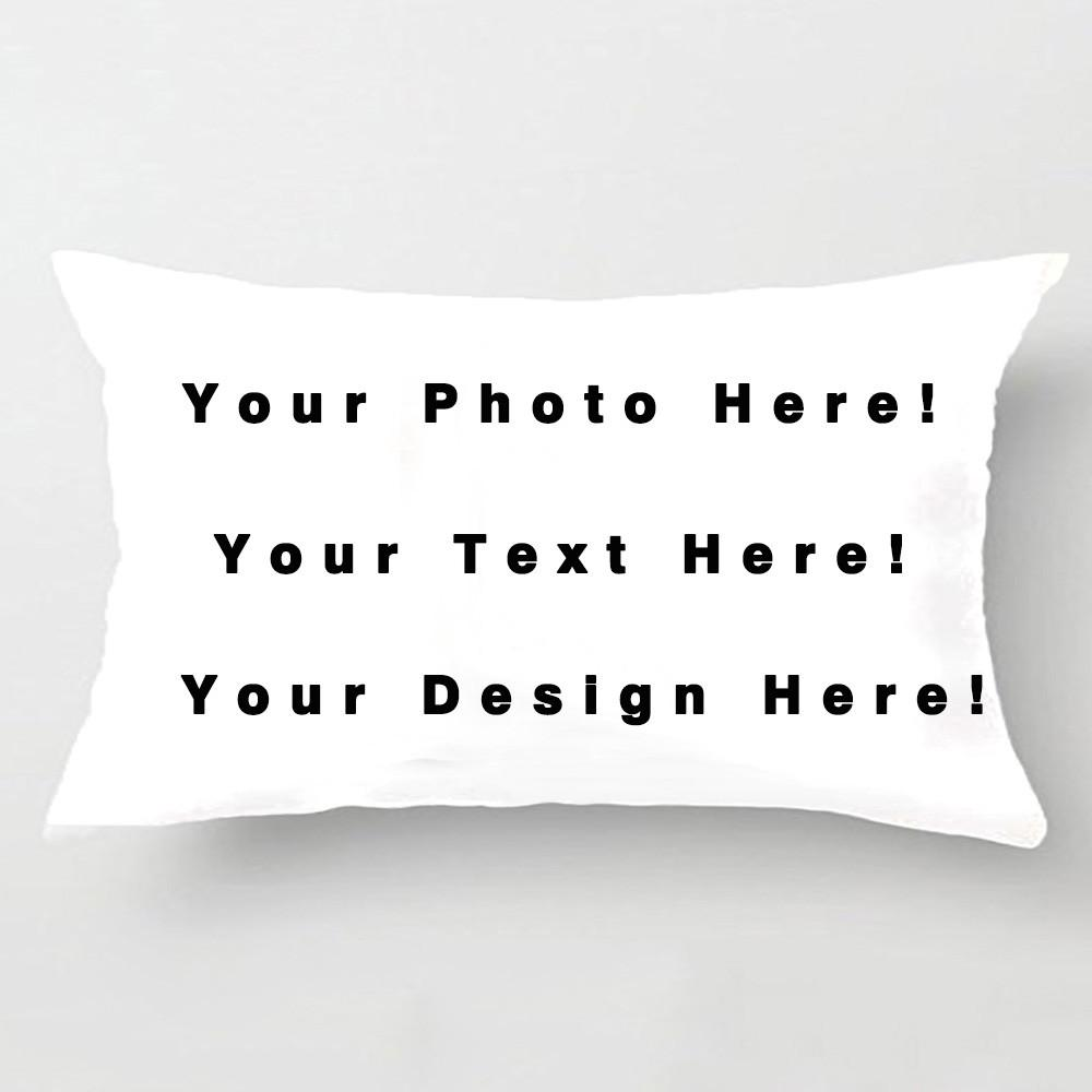Diy Personalized Custom Logo Design Cushion Cover Your Own