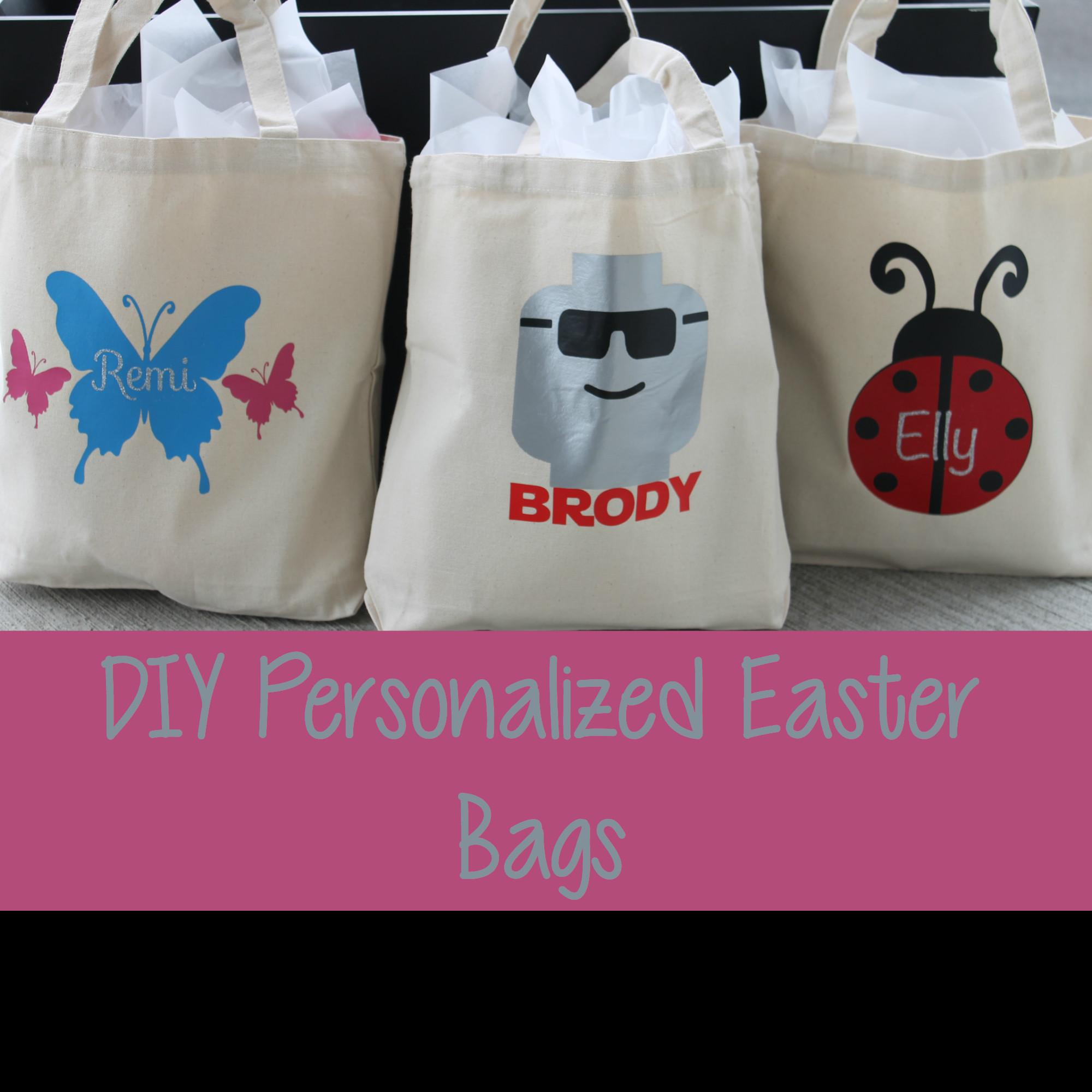 Diy Personalized Easter Bags Princess Her Pirates