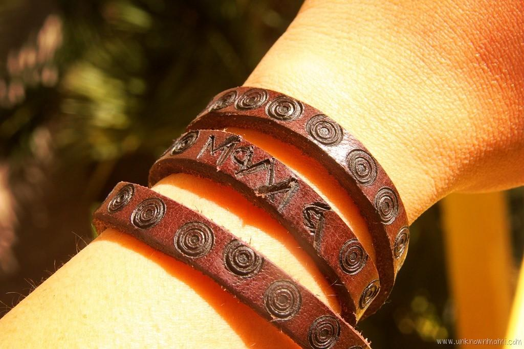 Diy Personalized Leather Bracelet Craft Unknown Mami