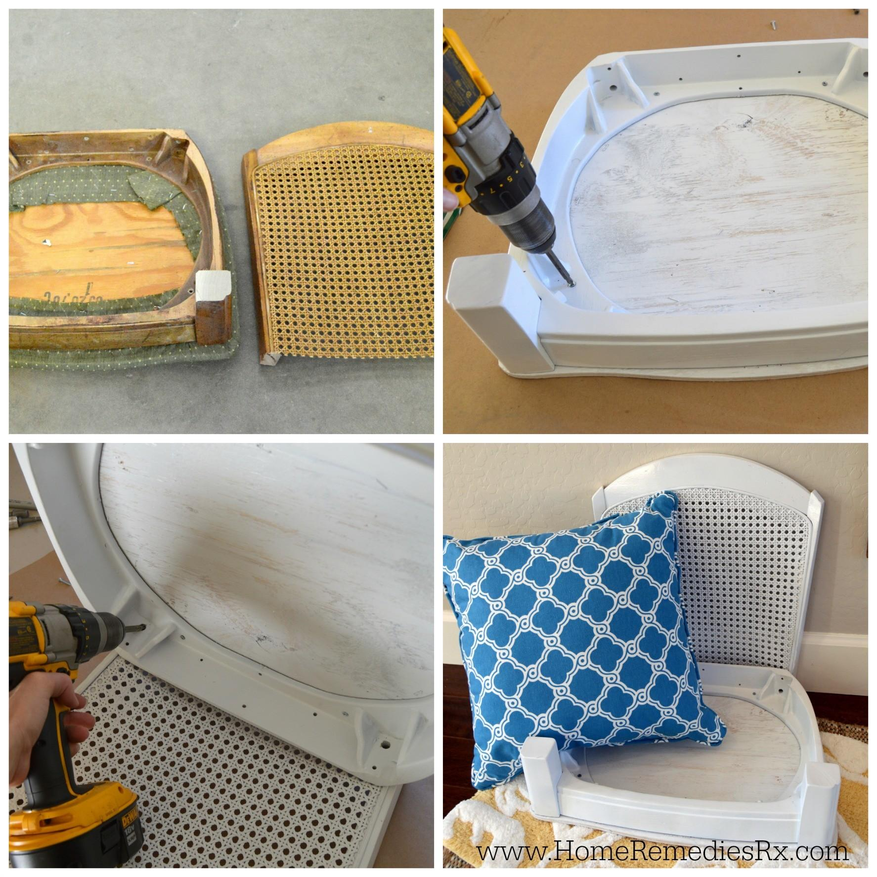 Diy Pet Bed Made Chair