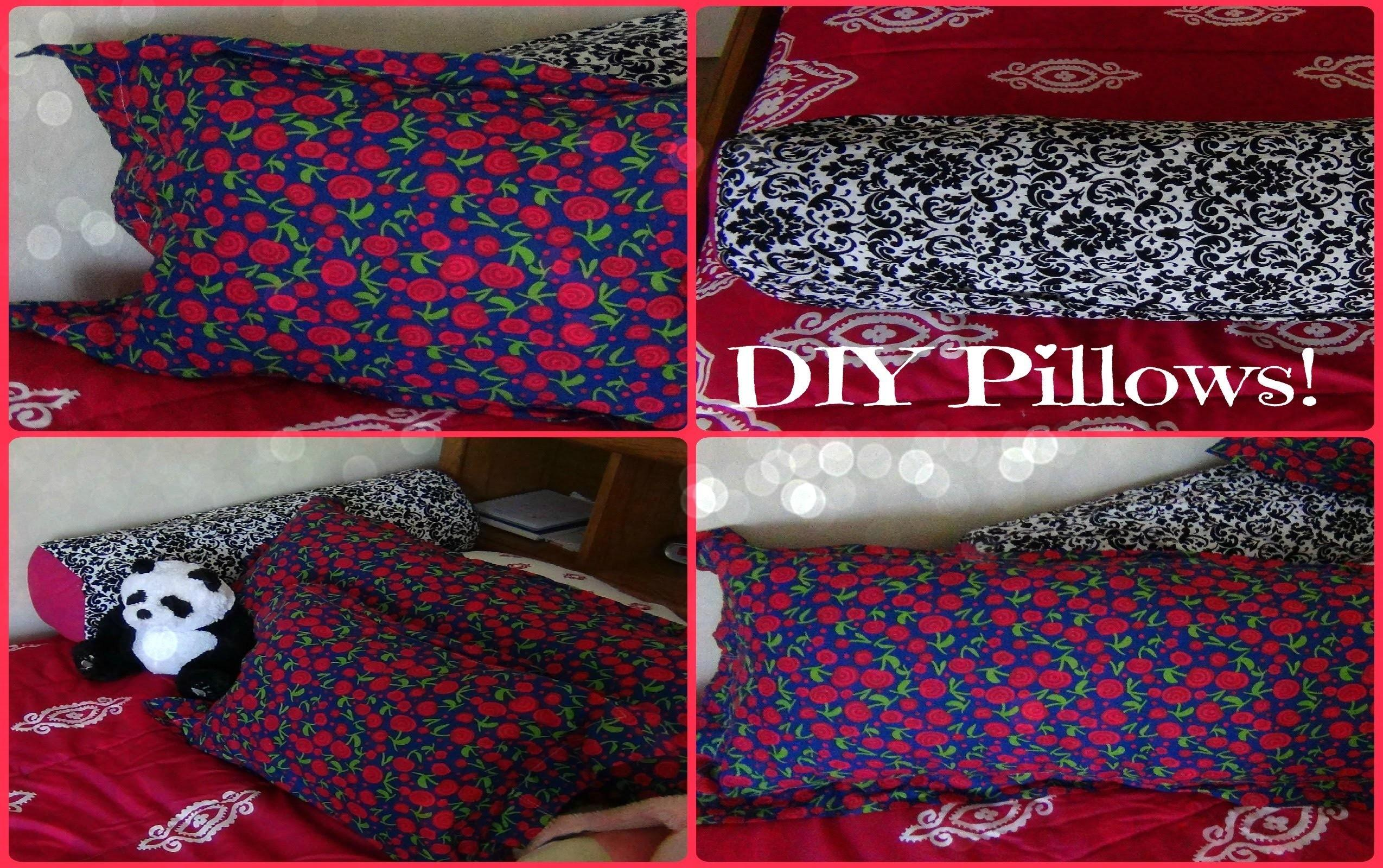 Diy Pillows Body Pillow Small Long Round