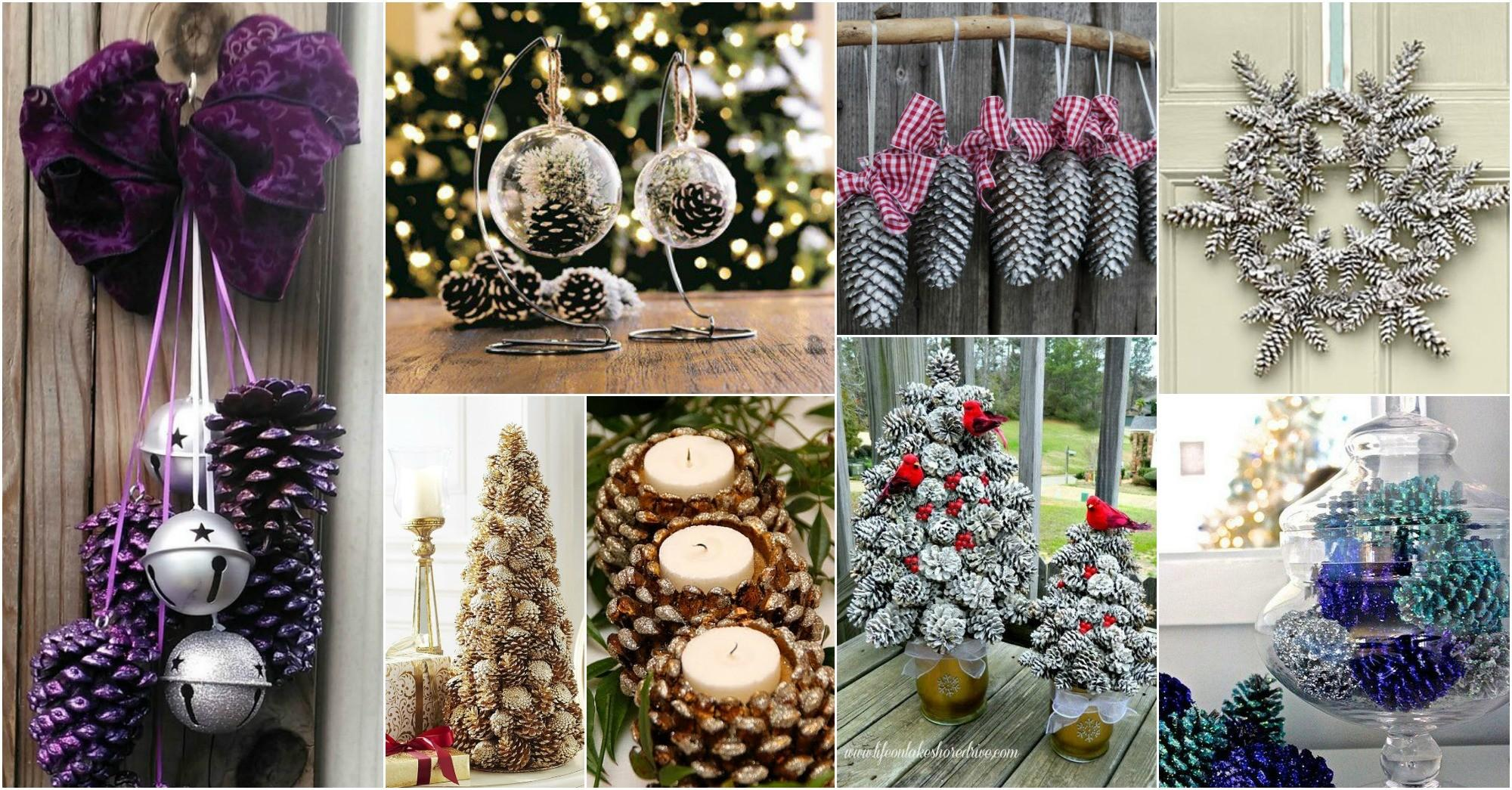 Diy Pine Cone Christmas Crafts Love