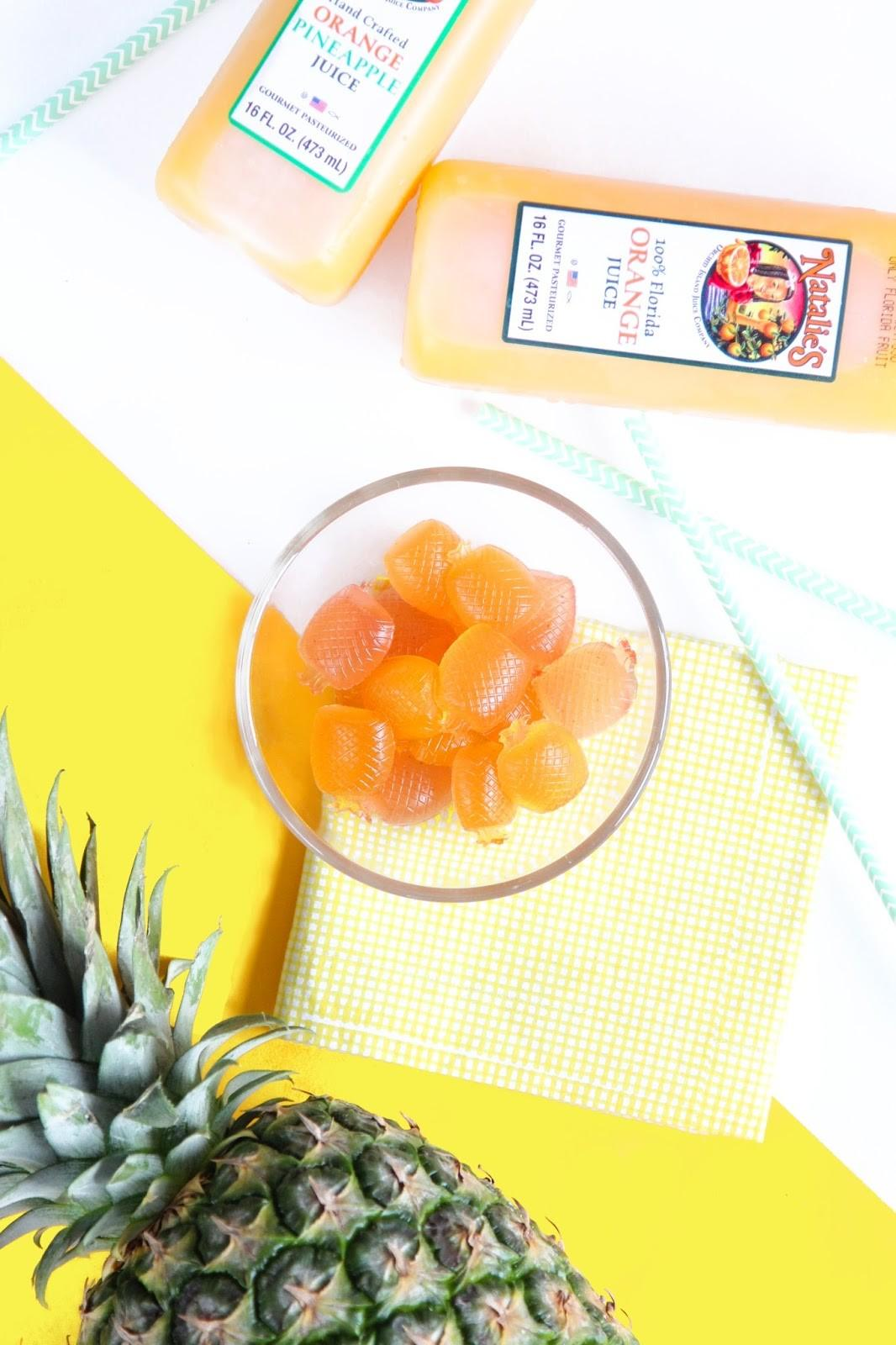 Diy Pineapple Shaped Gummy Candy