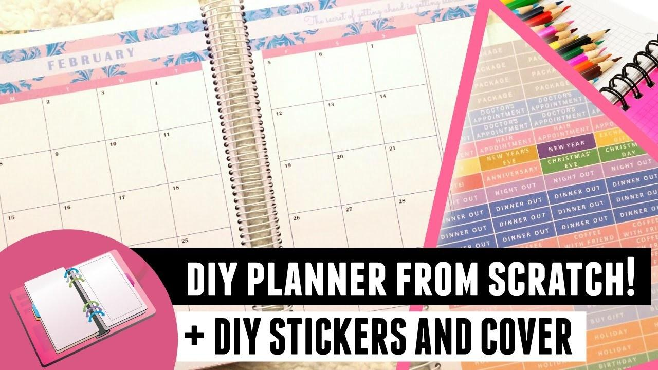 Diy Planner Printing Cover Stickers More
