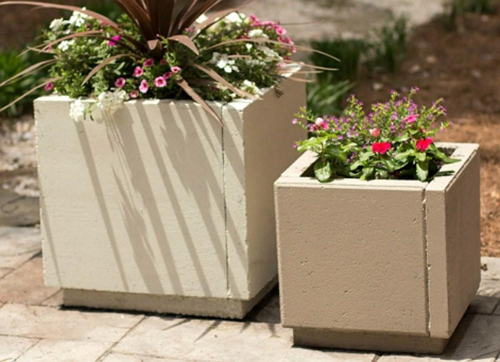Diy Planter Box Patio Paver Ideas Ways