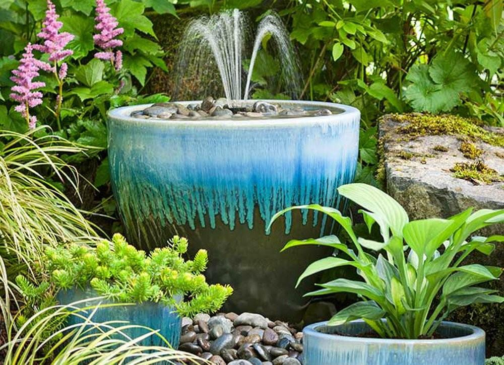 Diy Planter Fountain Creative Projects