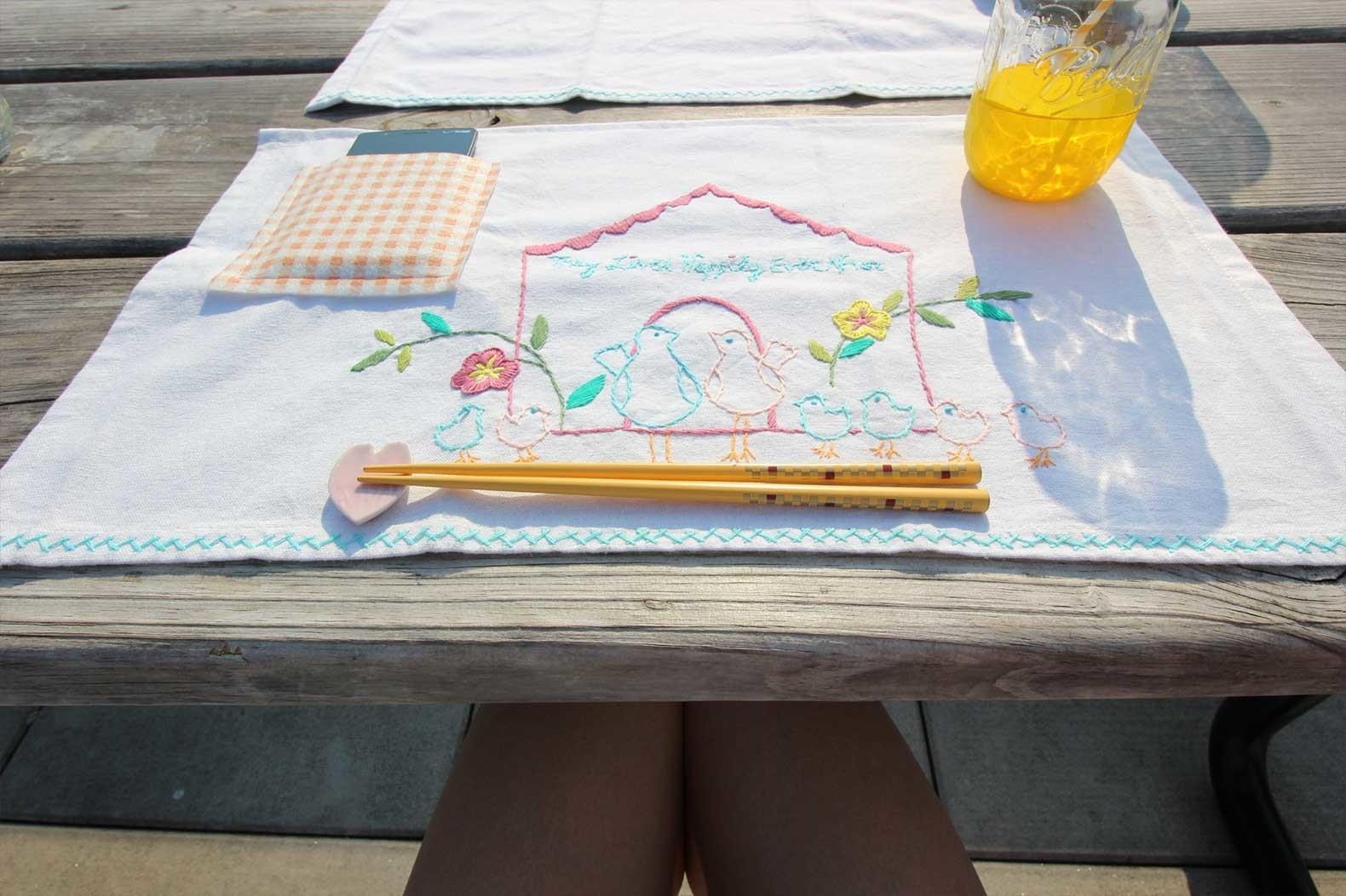 Diy Pocket Placemats Force Pay Attention During