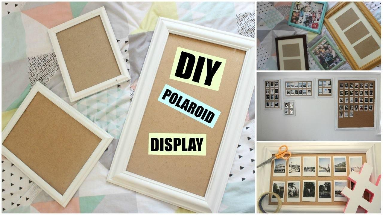 Diy Polaroid Display Frame Wall Katchats