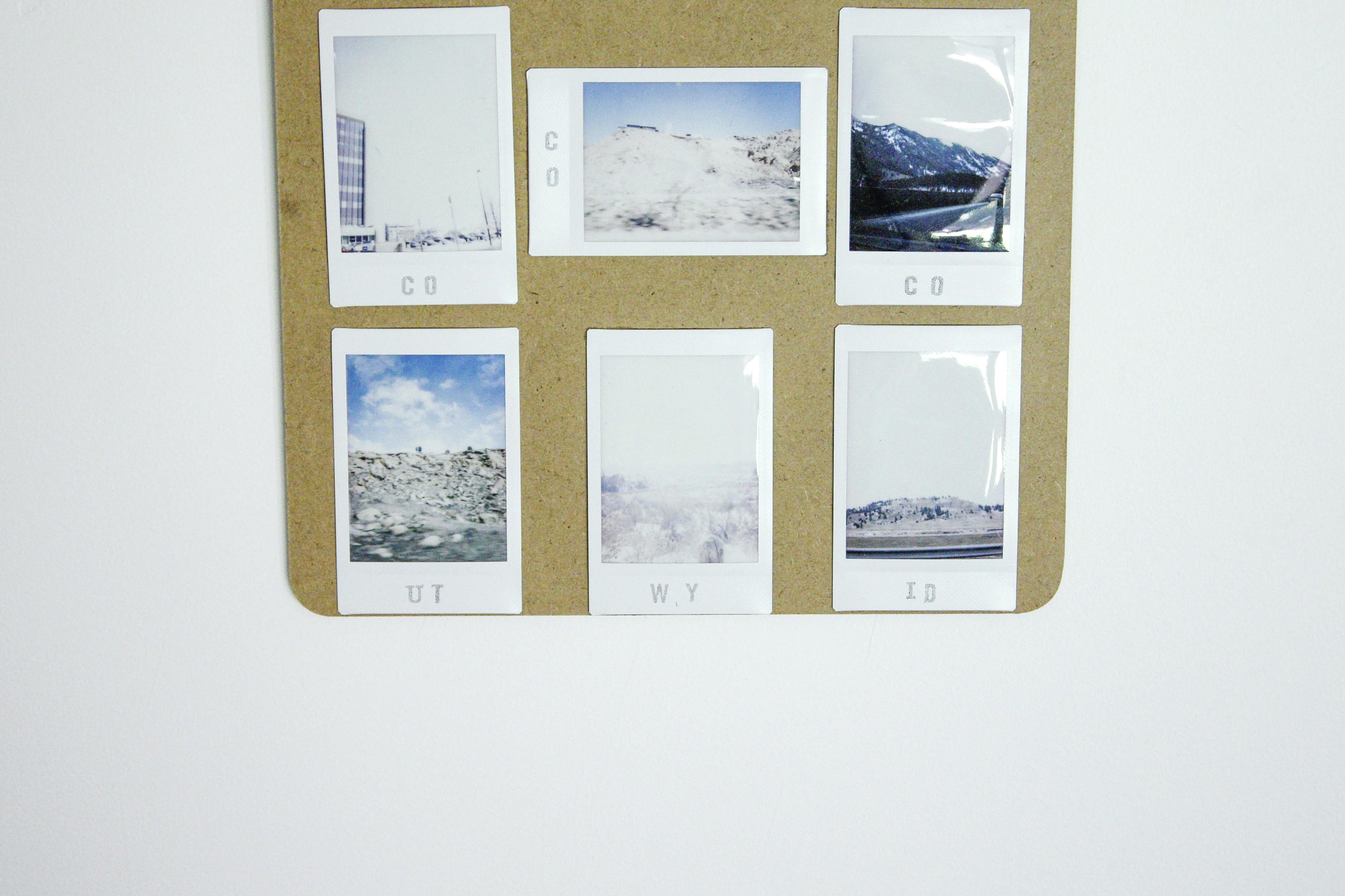 Diy Polaroid Display Hello Scarlett Blog