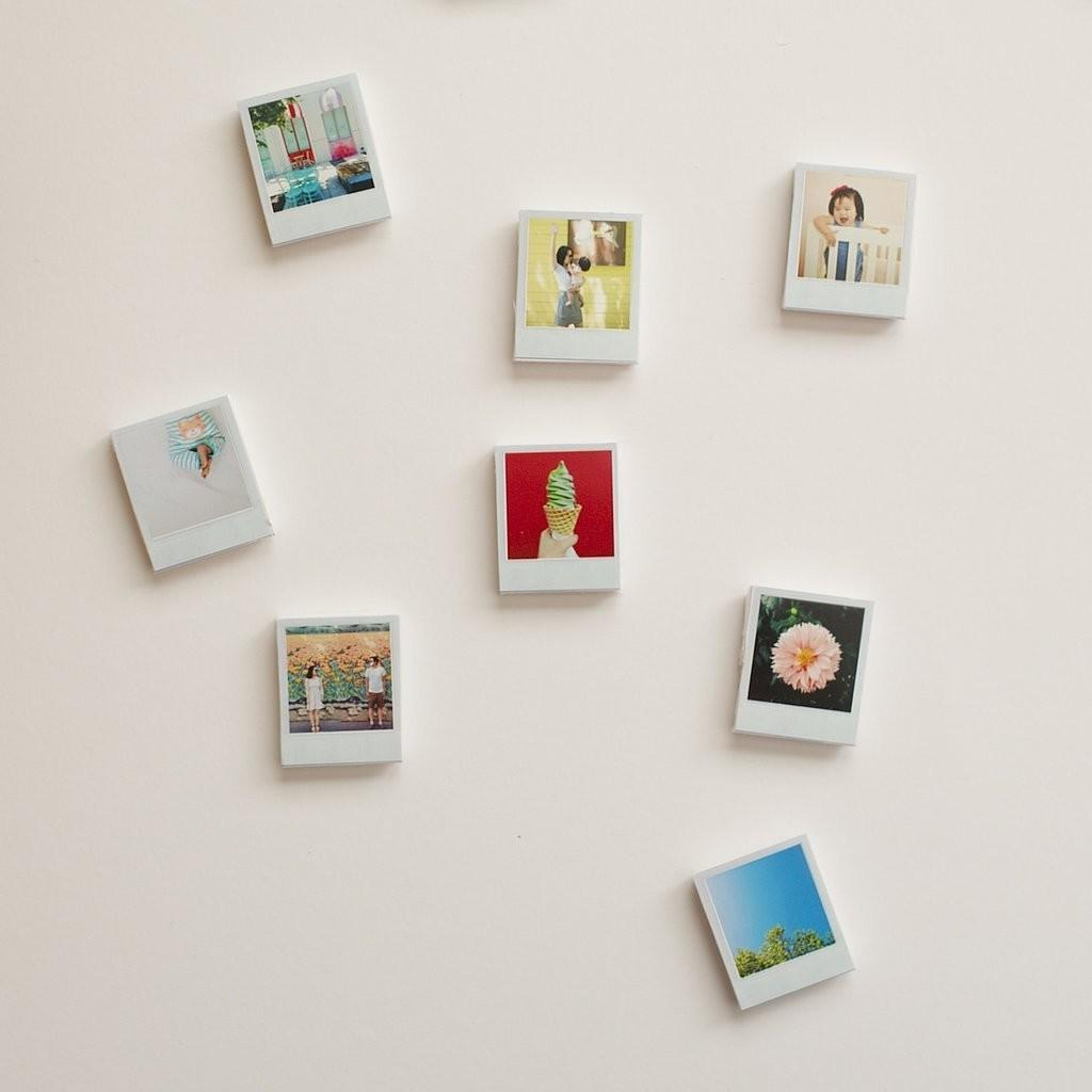 Diy Polaroid Magnets Awesome Stocking Stuffers