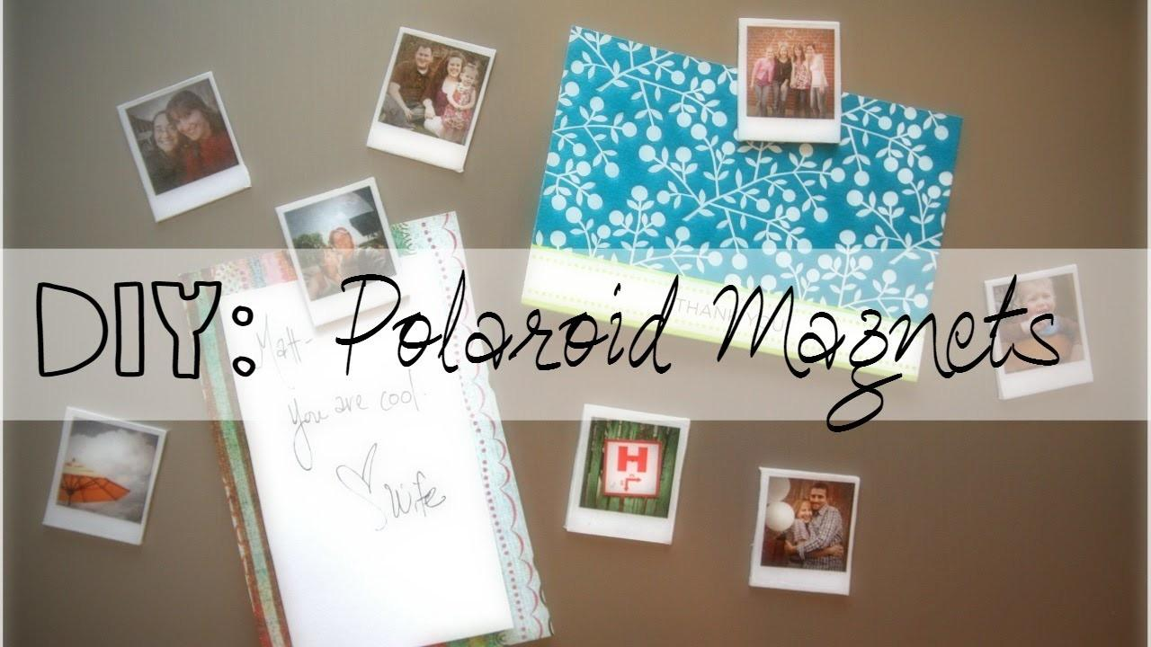 Diy Polaroid Magnets Mothers Day Gift