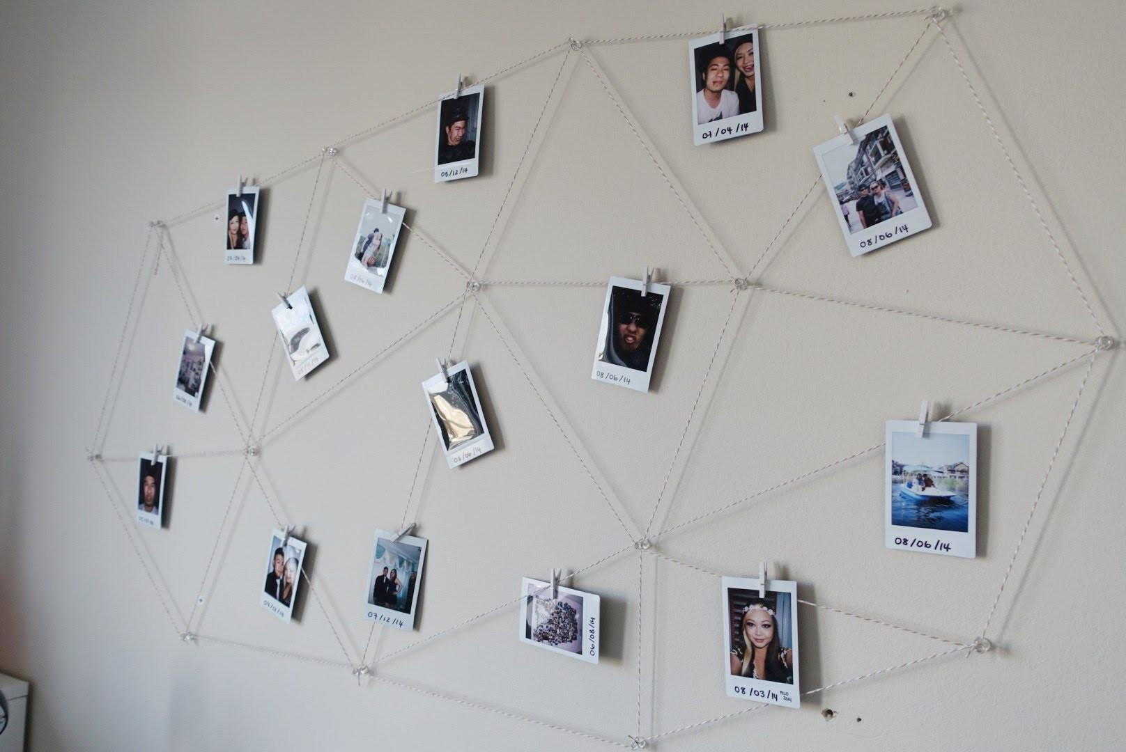 Diy Polaroid Wall Display