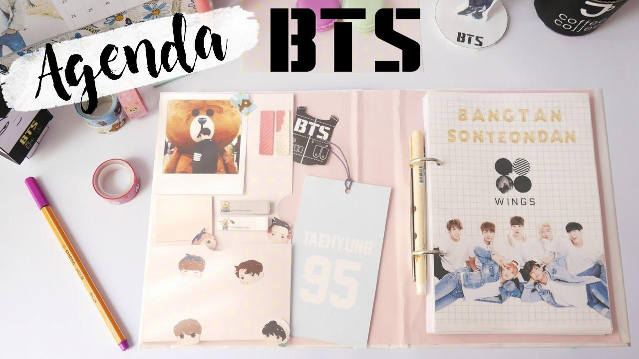 Diy Pop Bts 2017 Planner Spanish Eng Sub