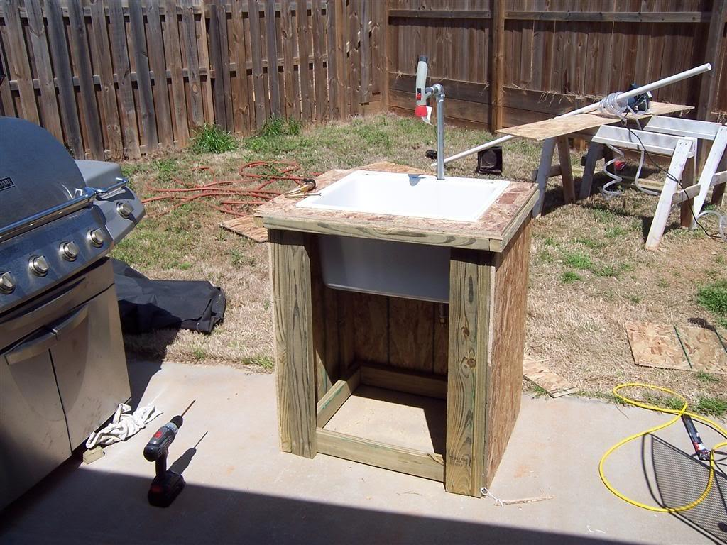 Diy Portable Outdoor Sink Projects