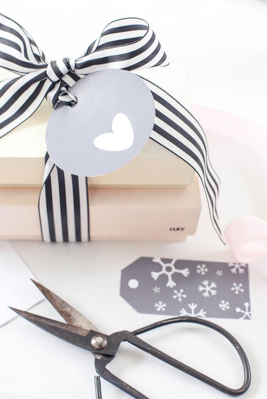 Diy Printable Christmas Gift Urban Quarters