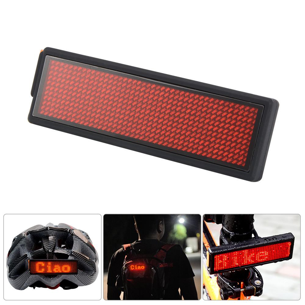 Diy Programmable Led Bicycle Bike Taillight Cycling Rear