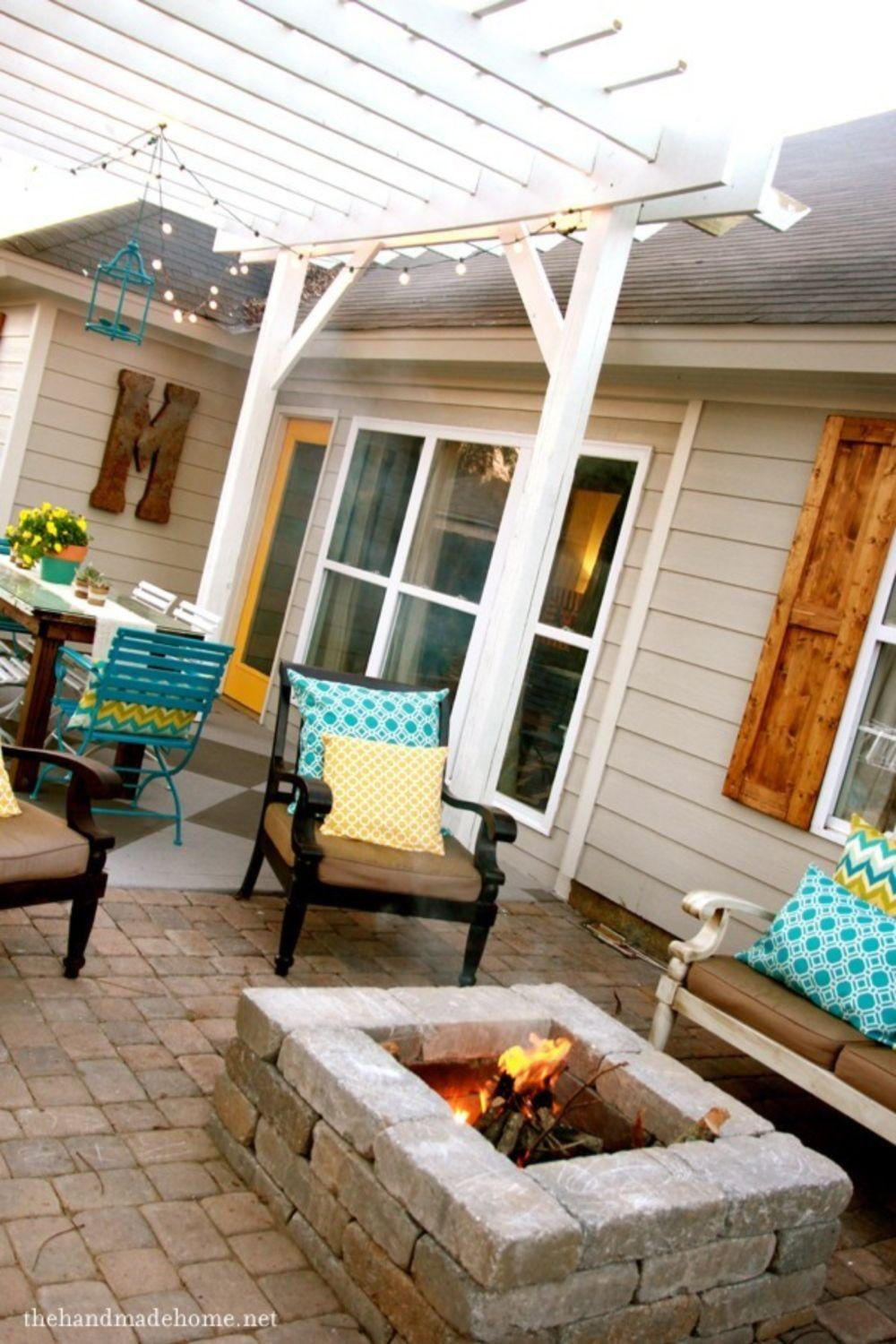Diy Project Ideas Landscaping Backyard Fire Pit