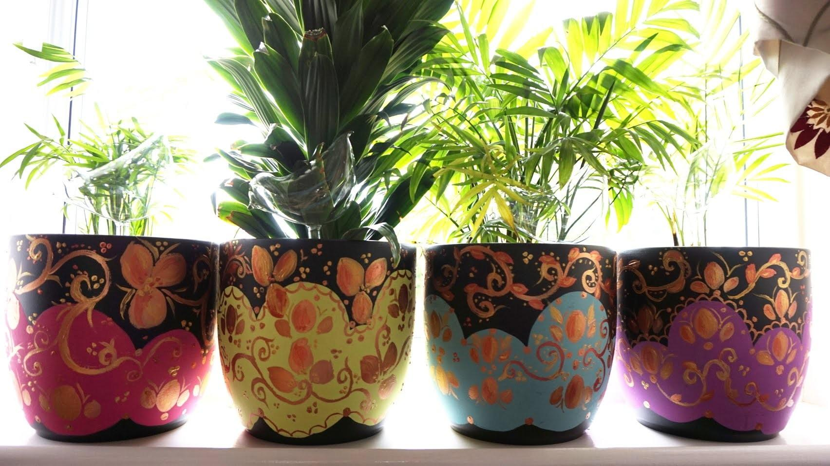 Diy Project Makeover Plant Pots
