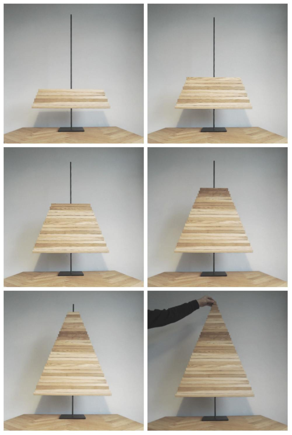 Diy Project Modern Wooden Christmas Tree Design Sponge