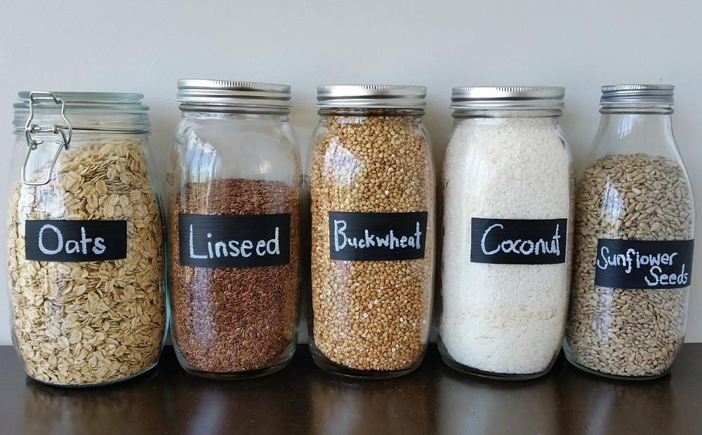 Diy Project Painted Chalk Labels Your Glass Jars