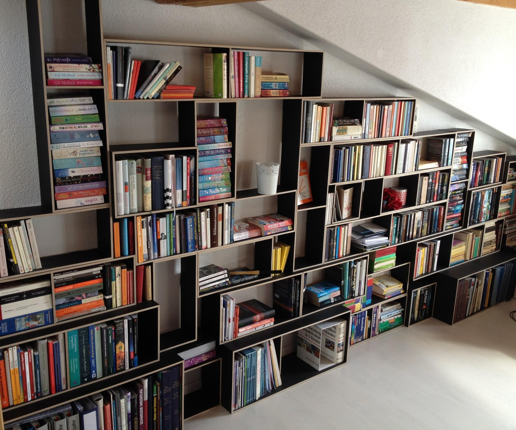 Diy Projects Make Your Own Bookshelf Modular