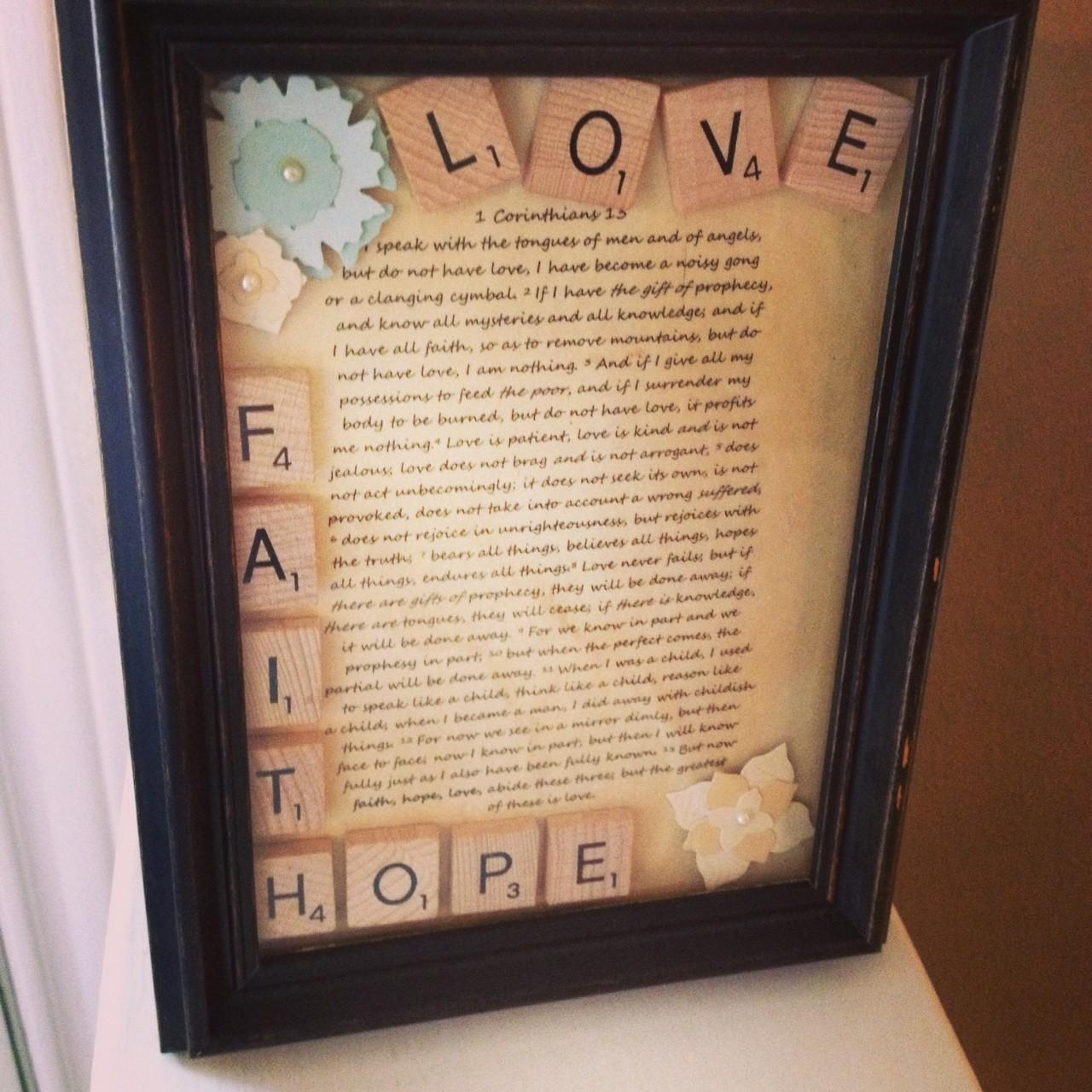Diy Projects Using Scrabble Tiles Room Bath