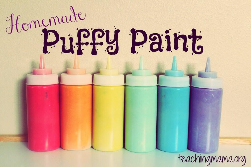 Diy Puff Paint Musely