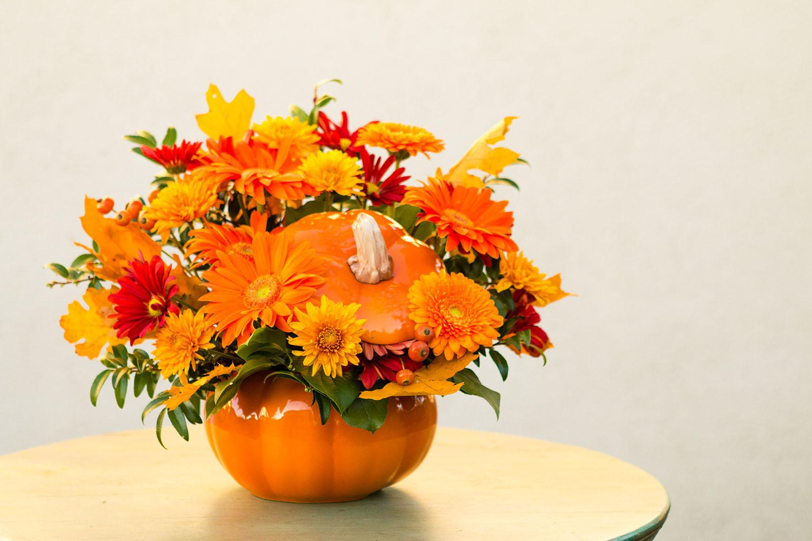 Diy Pumpkin Centerpieces Halloween