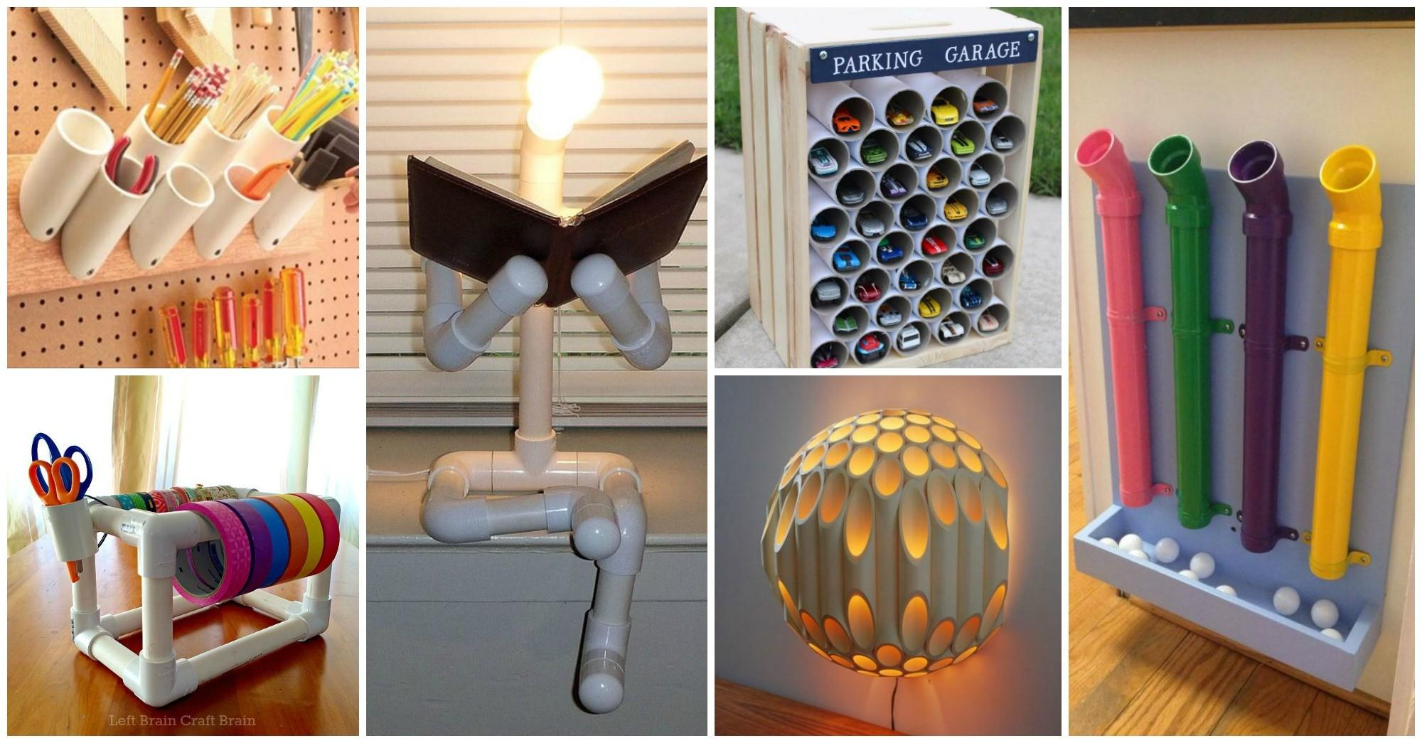 Diy Pvc Pipes Bright Creative Solutions Your Home