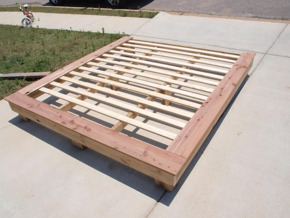 Diy Queen Platform Bed Storage Quick
