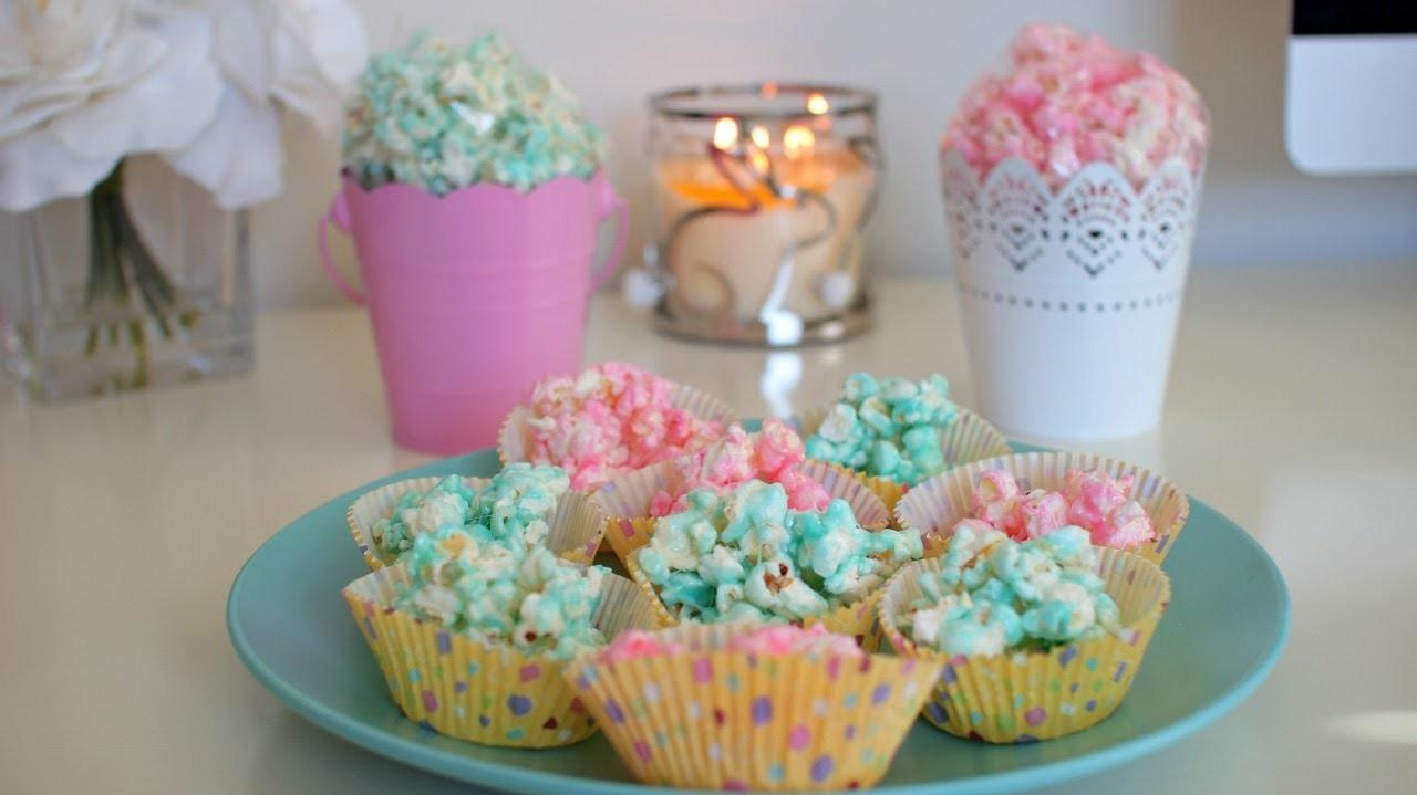 Diy Quick Easy Easter Treat Peepcorn Candy