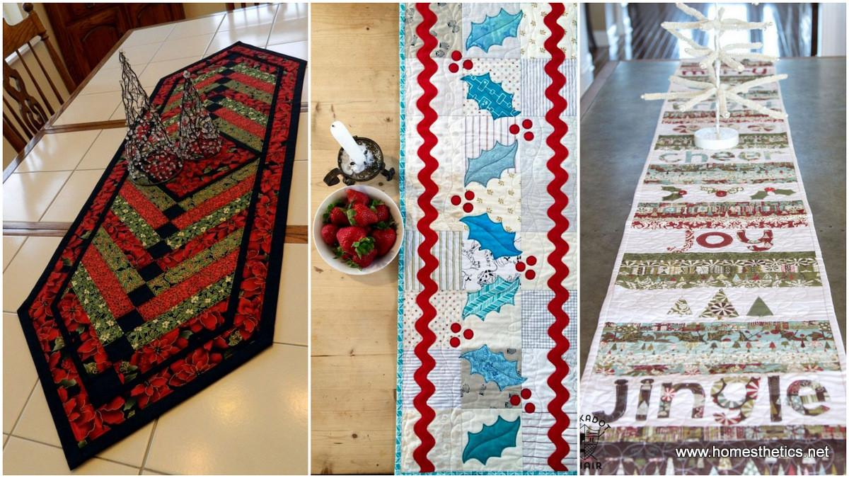 Diy Quilted Table Runner Ideas All Year Round