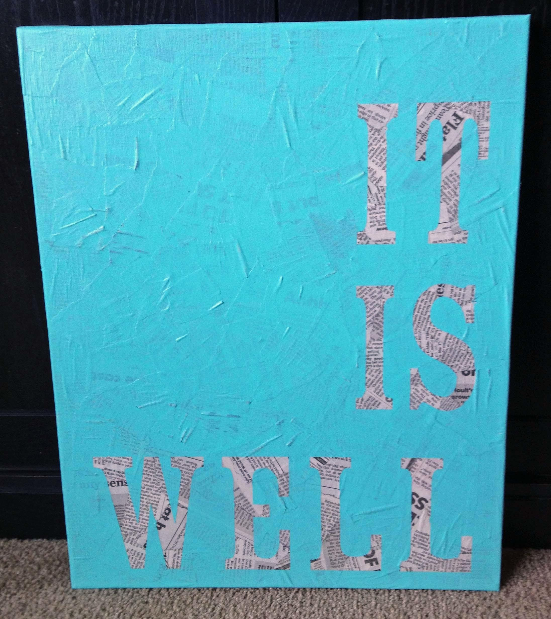 Diy Quote Wall Art Brandidandy