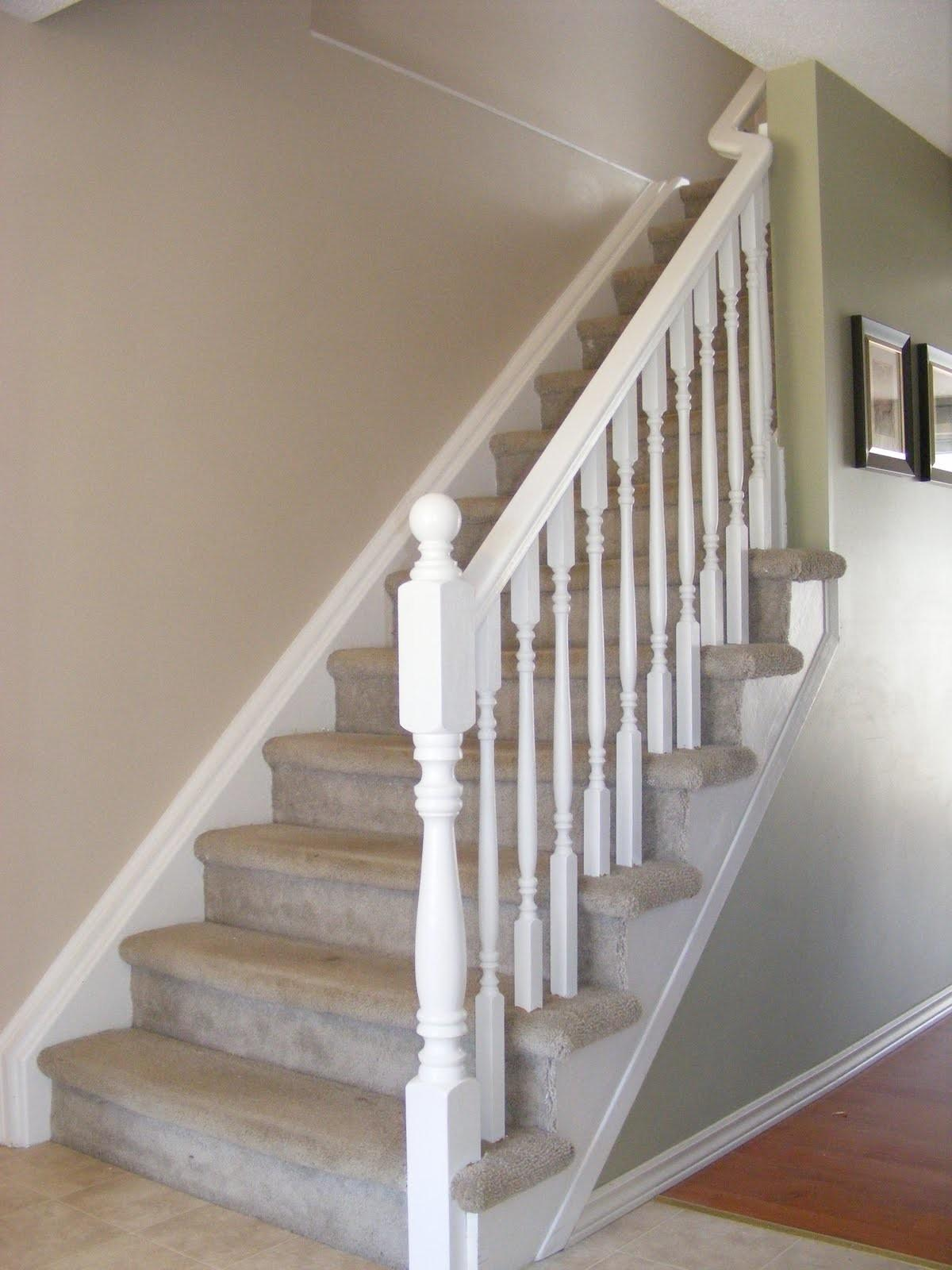 Diy Railing Stairs Home Design Larizza