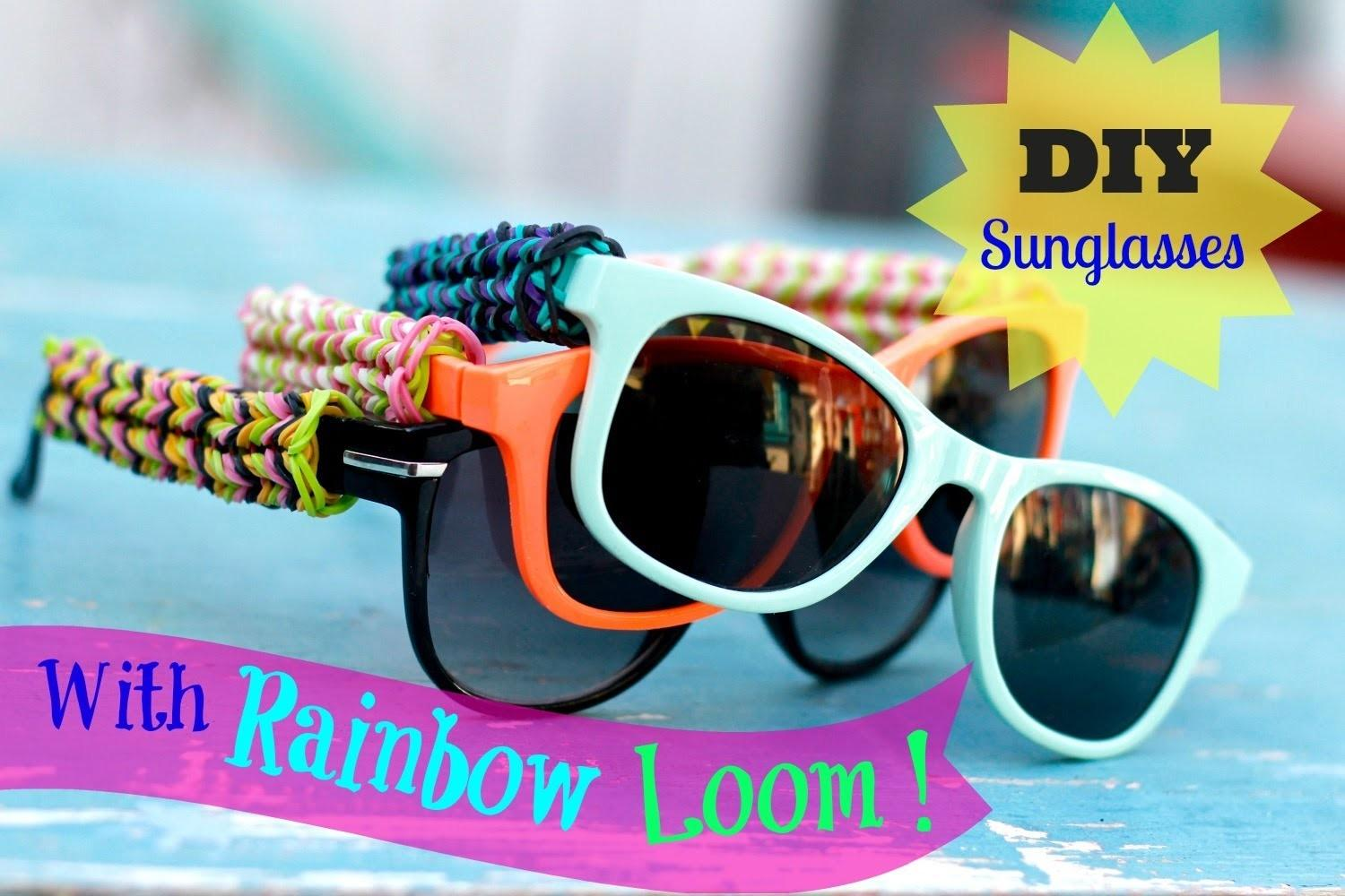 Diy Rainbow Loom Sunglasses Fishtail Design Original