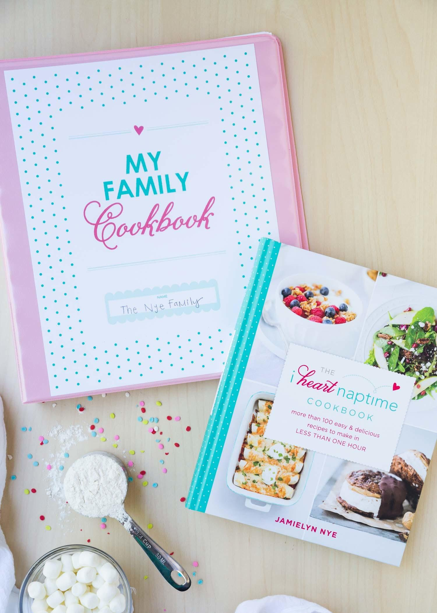 Diy Recipe Binder Heart Naptime Cookbook